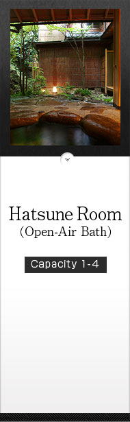 Hatsune Room (Open-Air Bath)