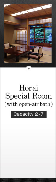 Horai Special Room (with open-air bath)