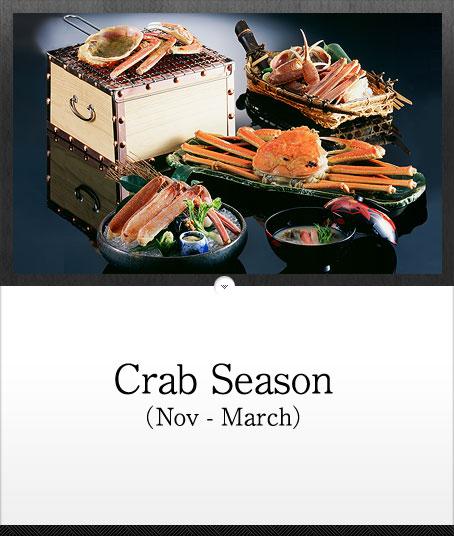 Matsuba Crab (Nov - March)