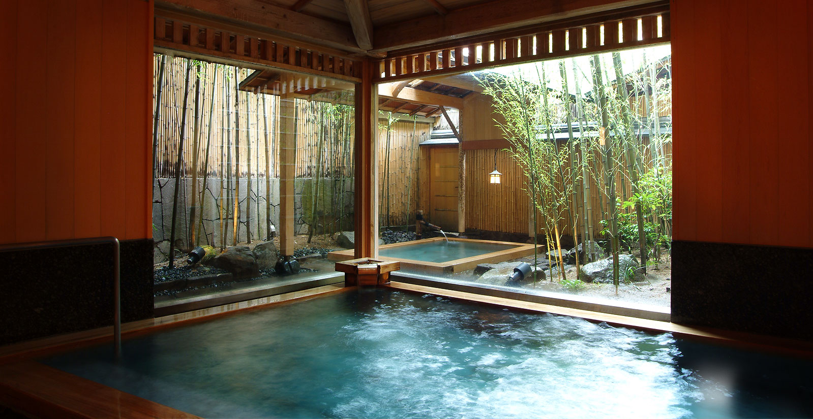 how to say hot spring in japanese